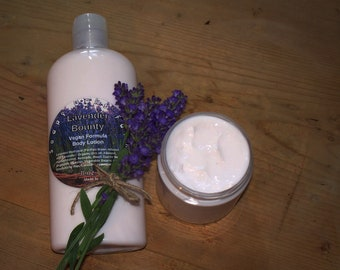 Lavender Bounty Lotion -Vegan Moisture Rich Body Lotion