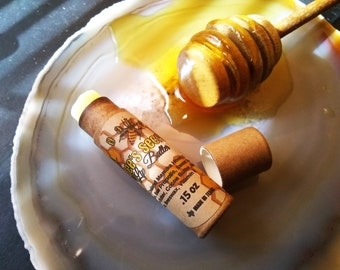 Now LARGER - Bee's Secret- Healing Lip Butter