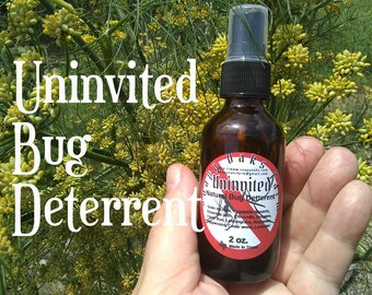 Uninvited -Essential Oil Bug Deterrent