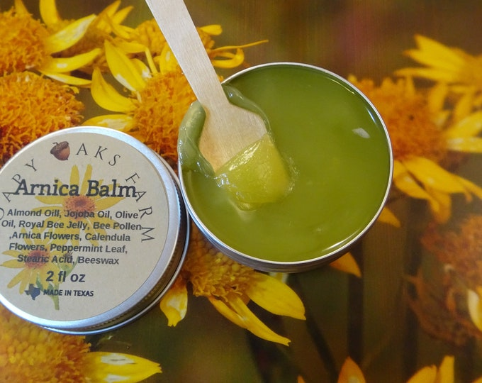 Featured listing image: Arnica Balm - With Royal Jelly & Bee Pollen