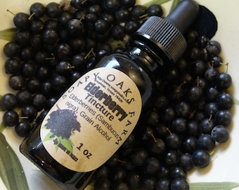 Elderberry (Sambucus nigra) Tincture for colds