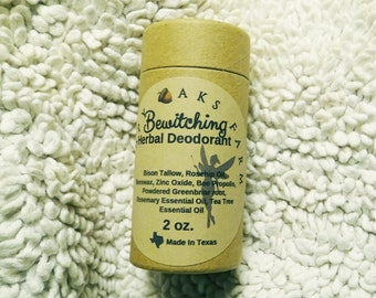 Bewitching All Natural Deodorant