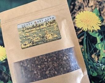 Organic Wild harvested Dandelion Root