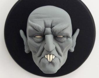 Nosferatu/Orlok/Vampire/art Toy/Resin Figure/Head Sculpture/Deco Art