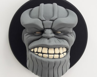 Thanos/Comic/Heroes/Villains/art Toy/Resin Figure/Head Sculpture/Deco Art