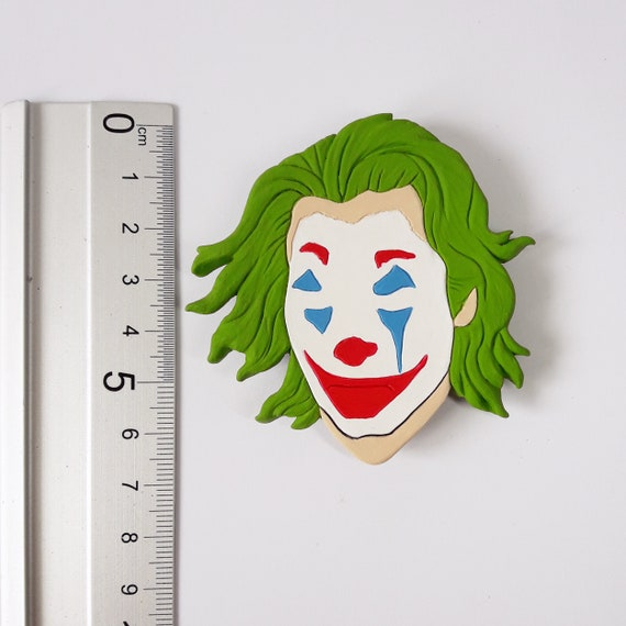 Joker Brooch Joaquin Phoenix Clothes Accessories Dc Comics 100 Handmade Limited Edition