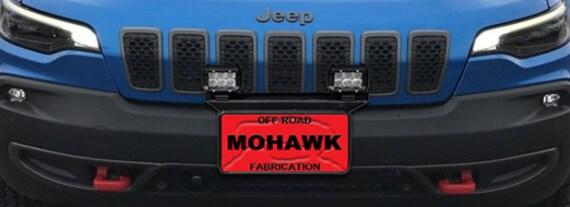 2019 Jeep Cherokee Kl 16 Front Pod Light License Plate Bracket