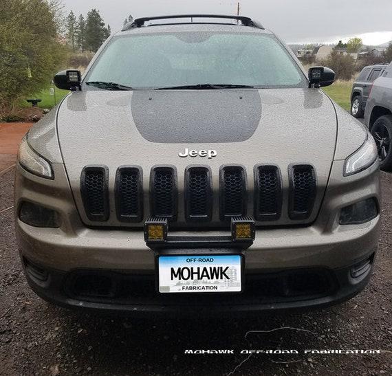2014 2018 Jeep Cherokee Kl 16 Front Pod Light Bracket