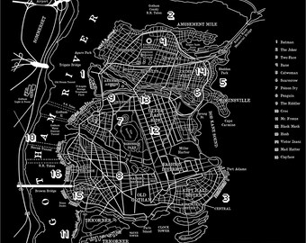 Gotham city | Etsy