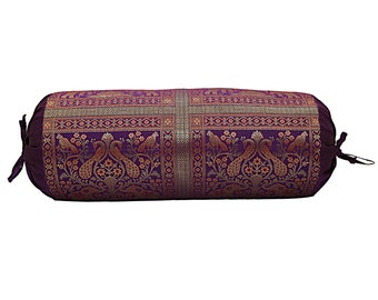 Indian Bolster Cover Mandala Pillow Cushion Cover  Cylindrical Masand Bolster