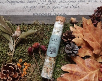 GA-A INCENSE in Natural Resin and Plants, pagan incense, wicca, for magic ritual, witchcraft, spirituality and magic.