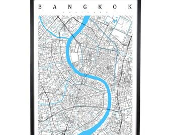 Bangkok - Thailand Map