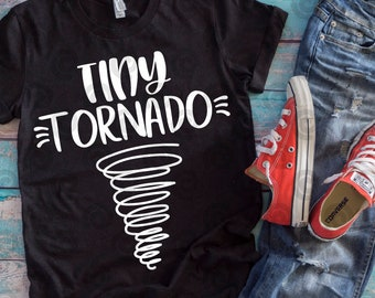 Tiny Tornado svg, dxf, eps, png, digital file, digital download, kids, mom life, chaos, clipart tee tshirt shirt tank