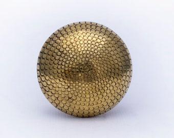Cleopatra Knob - Drawer Knob, Dresser Knob, Cabinet Knobs and Pulls, Unique Decorative Pull Handles, Gold Brass Pull knob