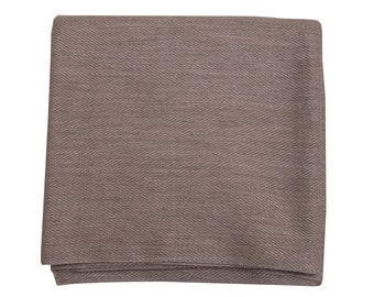 Light Mink Cashmere Throw 135 x 270cm
