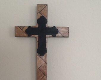 Wood Grain Cross