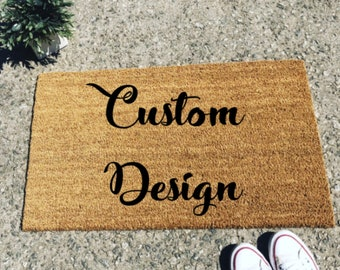 Custom Doormat | Etsy