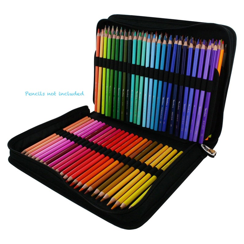 Thorntons Art Supply TAS-01520 Premium Super Soft Core Colored Pencil Artist Adult Coloring Drawing Set Assorted 50 Count