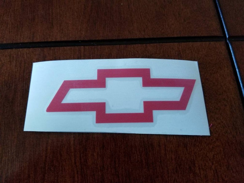 Chevrolet Bowtie Chevy Truck Car Vinyl Decal MANY COLORS *Free USA Shipping*