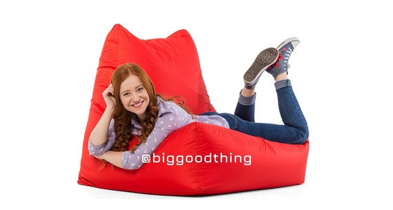 Astonishing Large Adult Bean Bag Chair With A Filler Giant Bean Bag Kids Bean Bag Chair Creativecarmelina Interior Chair Design Creativecarmelinacom
