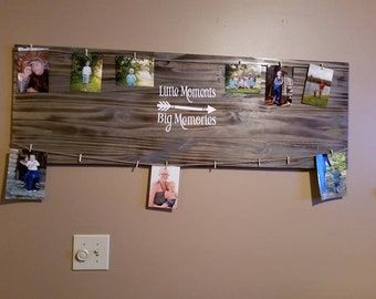 Little Moments Big Memories picture board