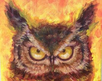 Tiger Owl (Original)