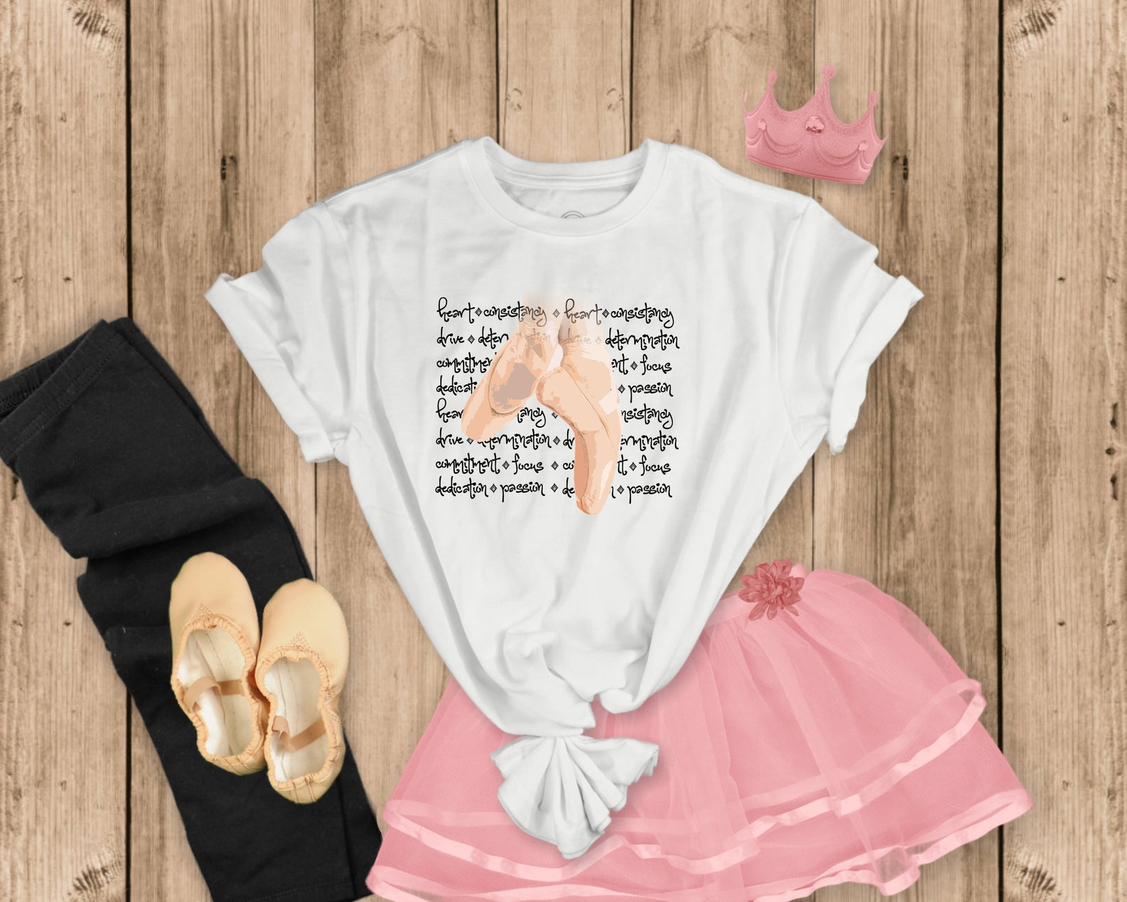 ballet pointe shoes dance recital gift