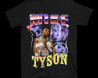 40bd6ed05191 Mike Tyson Vintage Inspired 90's T-shirt