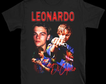 2aed99ba8 Leo DeCaprio Vintage inspired 90's T shirt
