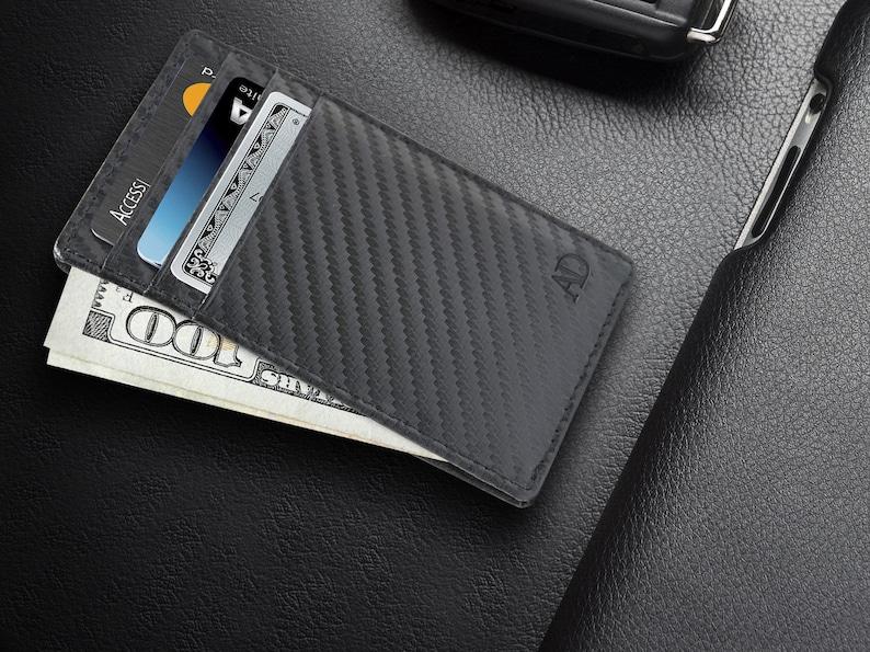 Women Men ID Credit Card Pouch Wallet Cash Holder Case Cover Pocket UK Seller