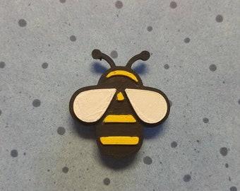 3D Printed Bumblebee Hair Clip READY TO SHIP