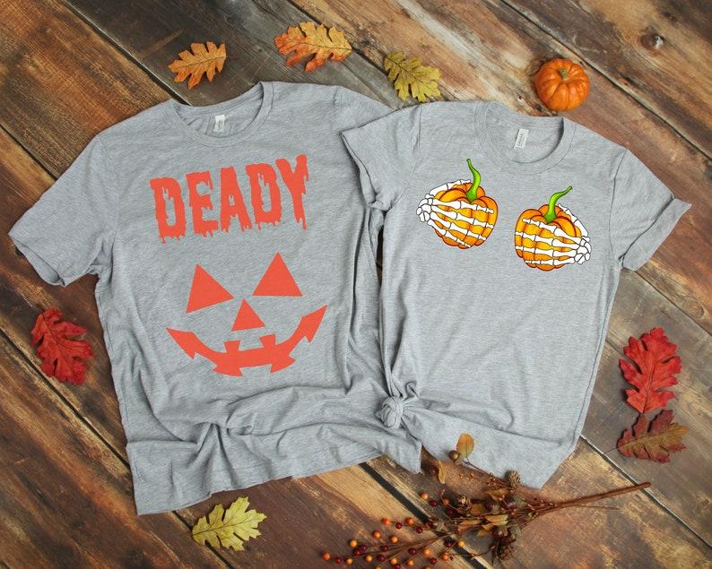 62615775 Halloween shirt halloween couple shirt halloween couple shirts | Etsy