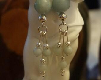 Genuine Amazonite earrings