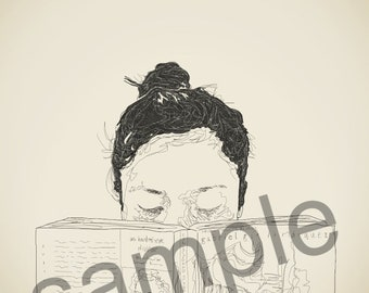 Customized Portrait Sketch (digital download)