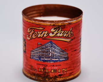 Tin Can Candle - Vintage