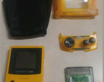 Game boy color yellow,  console GBC 001