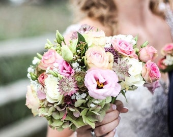 Wedding Bouquet, silk wedding bouquet , bridal bouquet
