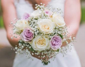 Wedding bouquet, Silk wedding bouquet, bridal bouquet