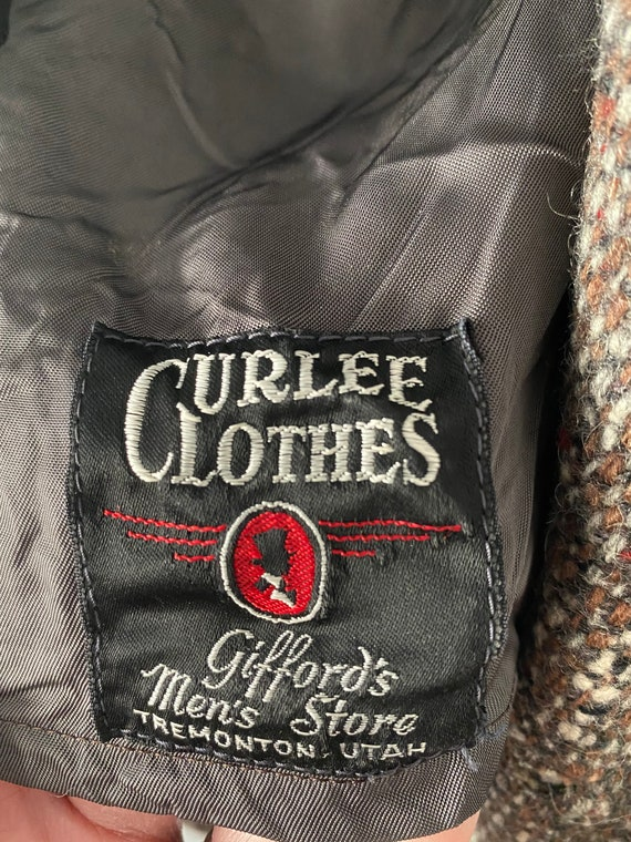 Men's 60s Tweed Coat - image 10