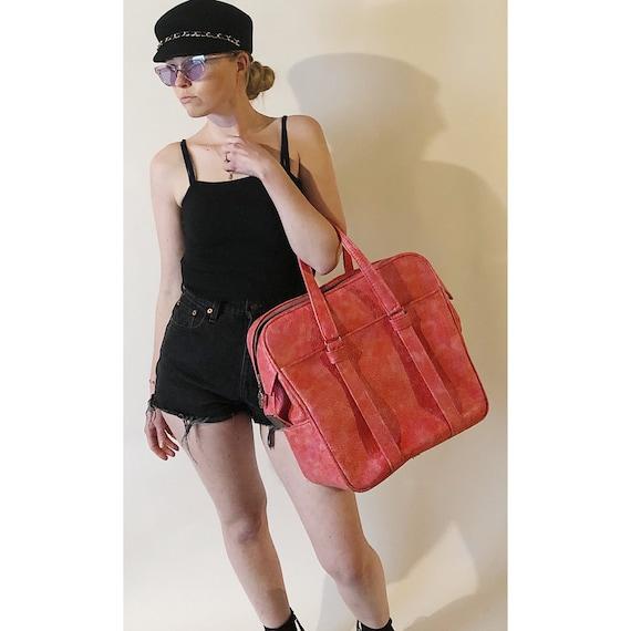 60's Mod Luggage Bag