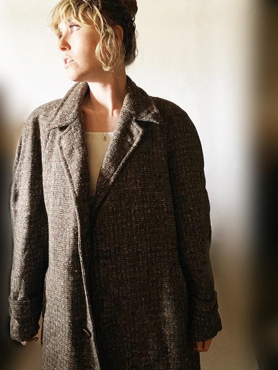 Men's 60s Tweed Coat - image 5