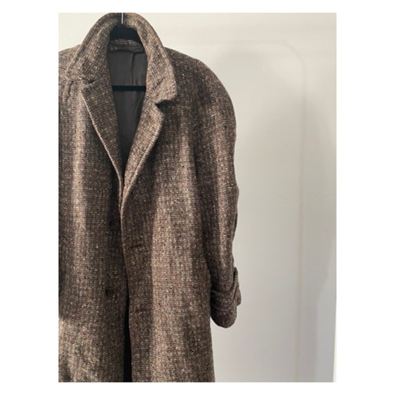 Men's 60s Tweed Coat