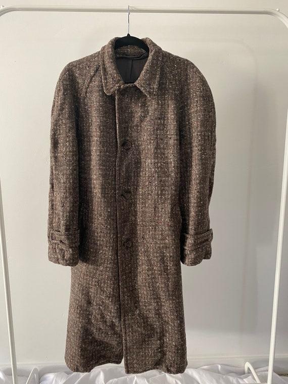 Men's 60s Tweed Coat - image 9