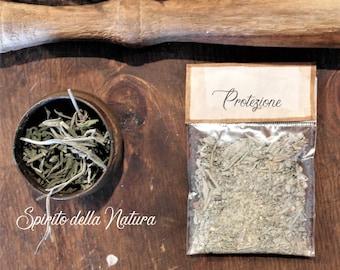 Protective mixture, 5 sachets of natural incense