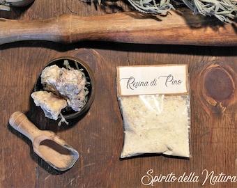 Pine Resin, 5 sachets of natural incense