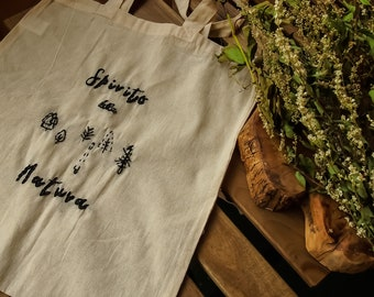 """Shopper """"Trees"""" in organic cotton """"Spirit of Nature"""", ecofriendly, sustainable"""