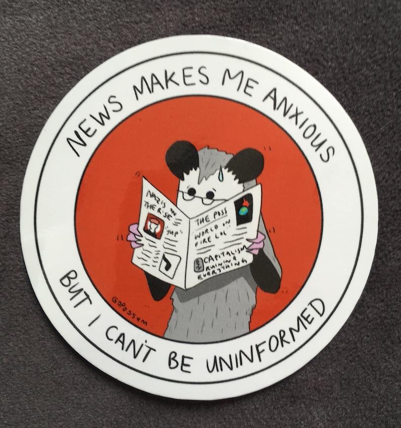 the GoPossum 7 sticker pack