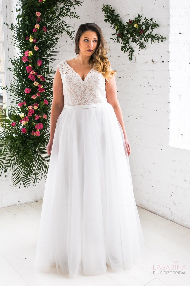 a774bd2ce7a Wedding Dresses Lace Plus Size - Gomes Weine AG