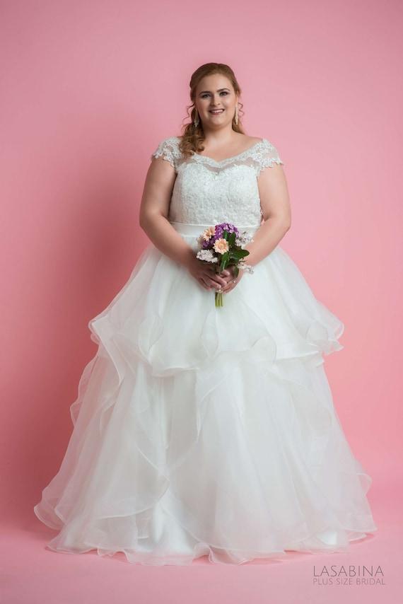 Plus Size Hochzeitskleid Ärmel plus Size Hochzeitskleid