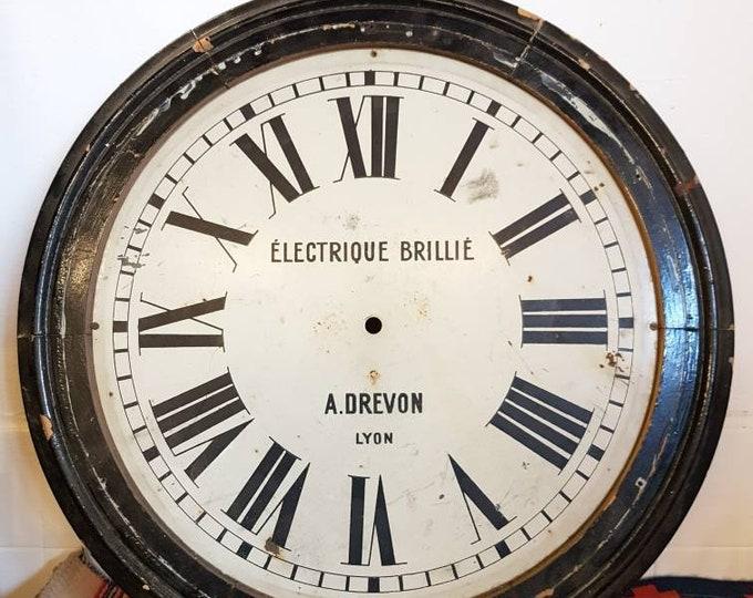 Vintage industrial BRIllIE clock